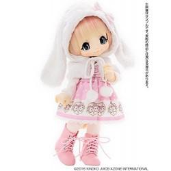 Muñeca Azone Hello Kikipop Kinoko Juice SUGAR CARAMEL ROMANTIC FRILL Doll NEW