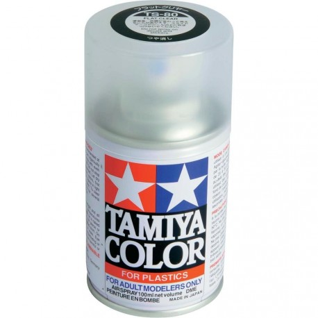 TAMIYA TS 80 ( MR SUPER CLEAR MSC ALTERNATIVE ) FLAT COAT SPRAY 100ml