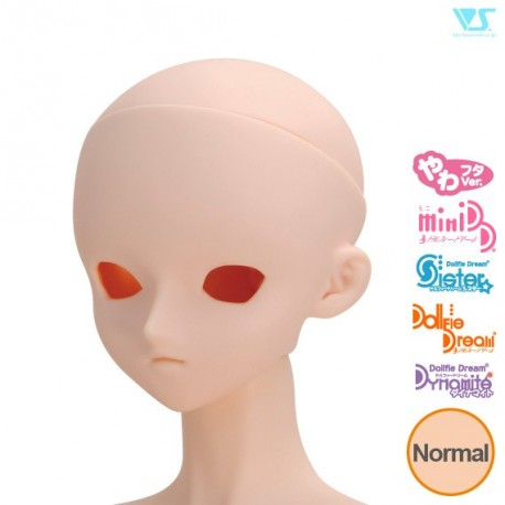 VOLKS DD Dollfie Dream Doll DDH-03 Eye Hole Open Soft Cover ver. Normal Head Color Cabeza
