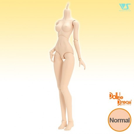 VOLKS DD Dollfie Dream Doll DDH-07 Eye Hole Open Soft Cover ver. Normal Head Color Cabeza