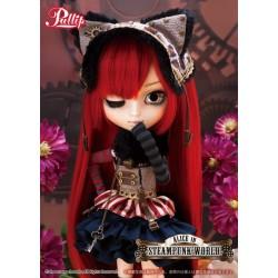 Muñeca Pullip Groove ALICE STEAMPUNK WORLD CHESHIRE CAT Doll