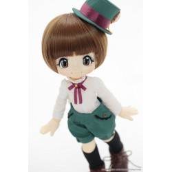 Azone Hello Kikipop Kinoko Juice Lovers! Smile Marron Brown Doll NEW