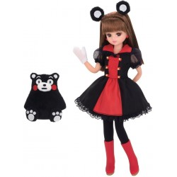 Licca-Chan LD-16 Kumamoto Kumamon Rilakkuma Doll
