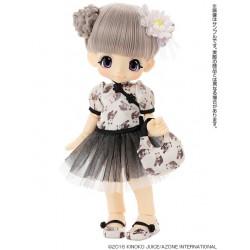 Azone Hello Kikipop Kinoko Juice [ ROUROU x PANDA ASIAN BROWN ] Doll NEW