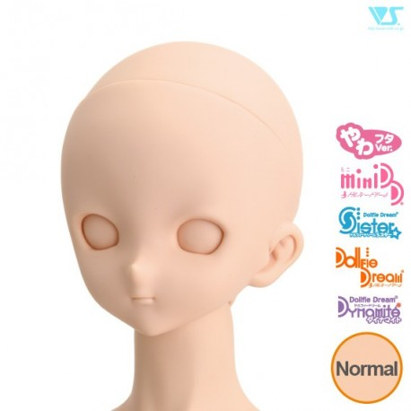 VOLKS DD Dollfie Dream Doll DDH-10 Eye Hole CLOSED Soft Cover ver. NATURAL Head Color Cabeza