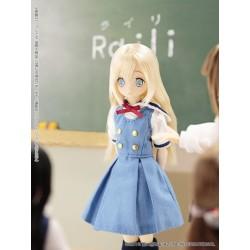 "AZONE PICCO EX CUTE INTERNATIONAL STUDENT ""RAILI"" NEW MINT IN BOX (NIB) PICCO NEEMO 1/12 DOLL"