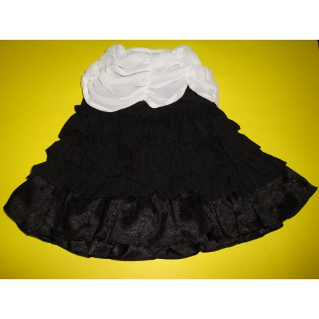 1/3 60cm BJD girl Doll DollHearts Pants FALDA SKIRT a5 LOLITA BLACK NEGRA