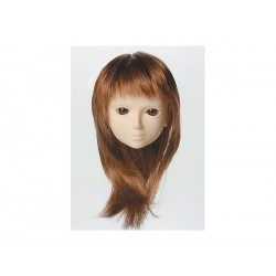 60cm Wig M Semi-Long (Chestnut Brown) OBITSU 8-9 inch