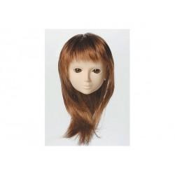 60cm Wig M Semi-Long (Chestnut Brown) OBITSU 8-9 inch