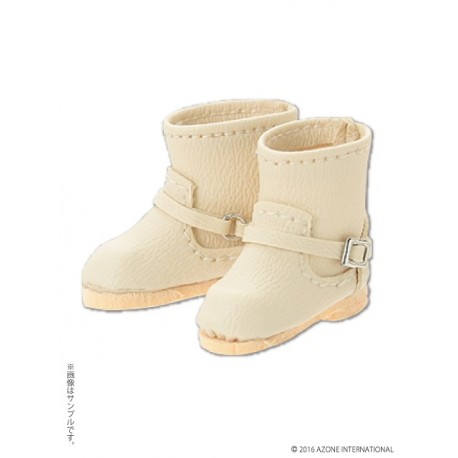 """Azone KIKIPOP! - Kinoko Planet """"Ballet Shoes"""" Zapatos White (DOLL CLOTHING)"""