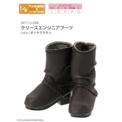 Azone 1/6 Shoes Zapatos - Crease Engineer Boots (Brown)