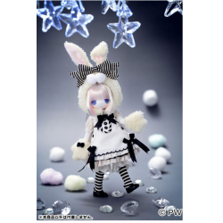 [ OPENED - MISSING BLOOMERS ] Muñeca Azone Hello Kikipop Kinoko Juice MARMALADE BROWN Doll NEW