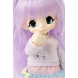 Muñeca Azone Hello Kikipop Kinoko Juice Nichijiro Drops Soda Blue Doll NEW