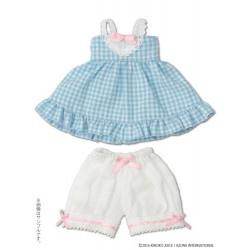 "KIKIPOP! - Kinoko Planet ""Gingham Baby Doll Set"" Soda"