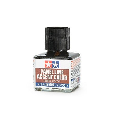 Tamiya Panel Line Accent Color BLACK