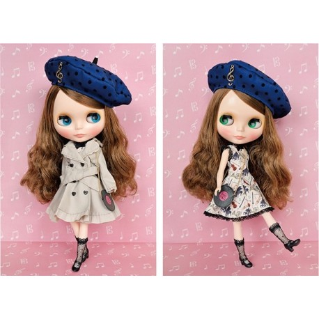 "TAKARA® NEO 12"" BLYTHE DOLL ""FRENCH TRENCH"" NEW MINT IN BOX (NIB)"