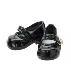 "Azone KIKIPOP! - Kinoko Planet ""Ballet Shoes"" Zapatos Enamel Black (DOLL CLOTHING)"
