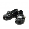 "Azone KIKIPOP! - Kinoko Planet ""Ballet Shoes"" Zapatos Enamel Black (DOLL CLOTHING)"