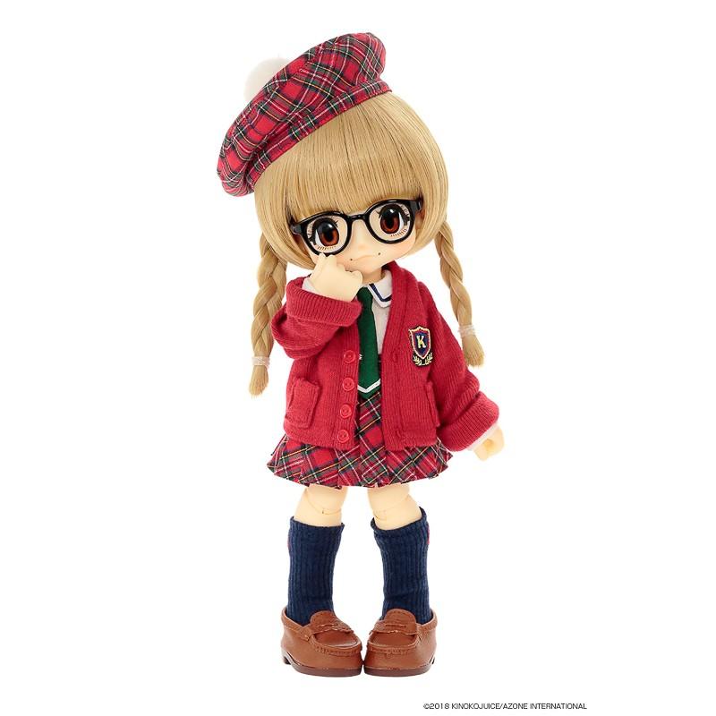 Muñeca Azone Bonjour Jus Kikipop Kinoko Salut!   Mon école Fukuiinchou No K-chan Doll
