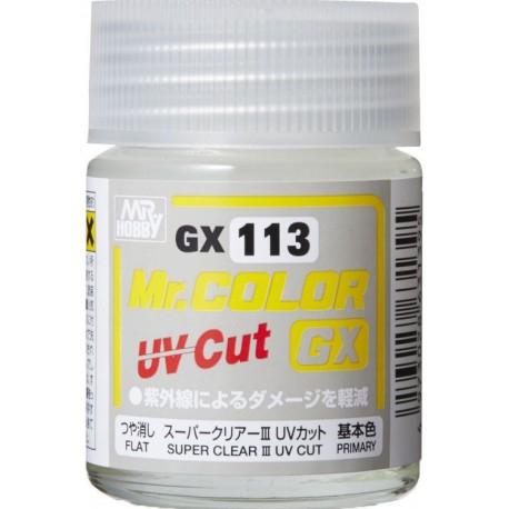 MR SUPER CLEAR Mr Hobby B523 ( MSC ) FIJADOR FIXATIVE MATT / FLAT UV CUT