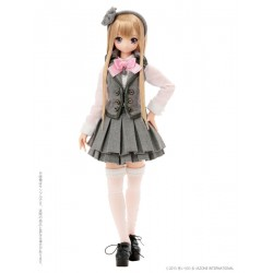 Azone Pink!Pink! a la mode 'Gray x Pink LYCEE' Pure-neemo 1/6 Doll