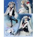 1/3 60cm Dollfie Dream VOLKS Snow Miku 2018 Crane Priestess Dress Set