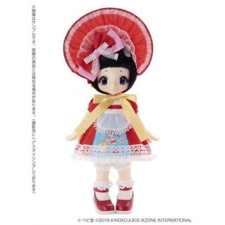 [PREORDER] Muñeca Azone Hello Kikipop Kinoko Juice Baby Bunka Girl Torikago ChanDoll NEW