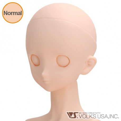 VOLKS DD Dollfie Dream Doll DDH-06 Eye Hole Open Soft Cover ver. Normal Head Color Cabeza