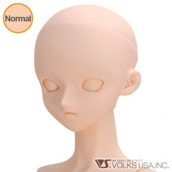 VOLKS DD Dollfie Dream Doll DDH-06 Eye Hole Close Soft Cover ver. Normal Head Color Cabeza