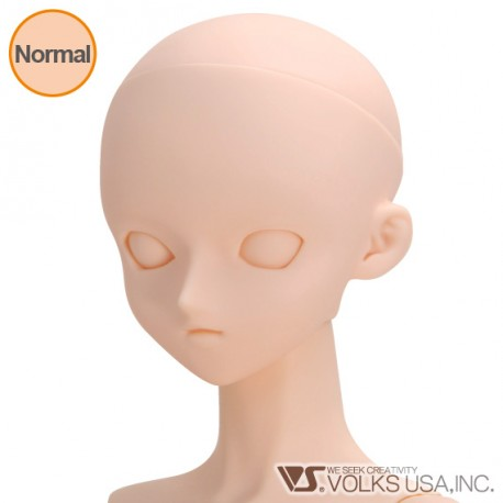 VOLKS DD Dollfie Dream Doll DDH-06 Eye Hole Close Soft Cover ver. Normal Head Color Cabeza