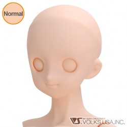 VOLKS DD Dollfie Dream Doll DDH-05 Eye Hole Close Soft Cover ver. Normal Head Color Cabeza