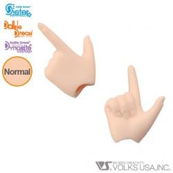 Manos Obitsu 11cm Hands WHITE Skin