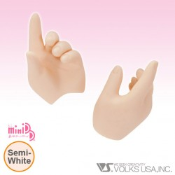 mdd-H-06 VOLKS DOLLFIE DREAM HANDS SWORD HOLDING HAND SEMIWHITE