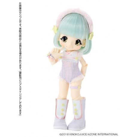 Muñeca Azone Hello Kikipop Kinoko Juice Pipipoppi Blue Pop Doll NEW