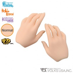 dd-H-01 VOLKS DOLLFIE DREAM HANDS REGULAR HAND NORMAL