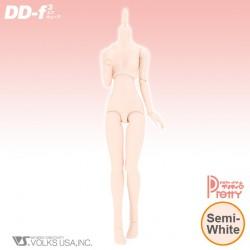 VOLKS Dollfie Dream Doll DD III F3 Base Body Semi-White Color Cuerpo