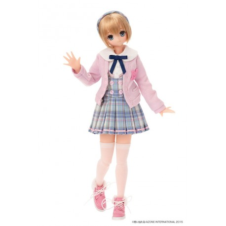 Azone Pink!Pink! a la mode 'Gray x Pink LYCEE' Pure-neemo 1/6 Doll LIMITED