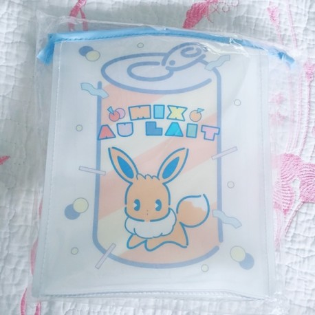 POKEMON MIX AU LAIT PLASTIC CLEAR BAG