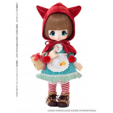 [PREORDER MAY2020] Muñeca Azone Kinoko Juice Hello KIKIPOP! Ookami-chan to Zukin-chan Ookami-chan Doll NEW