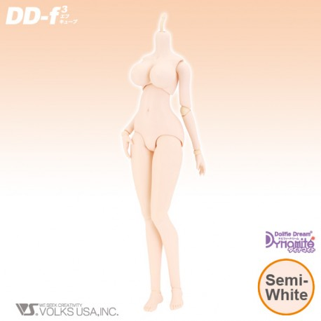VOLKS Dollfie Dream DYNAMITE Doll DD III F3 Base Body Normal Color Cuerpo