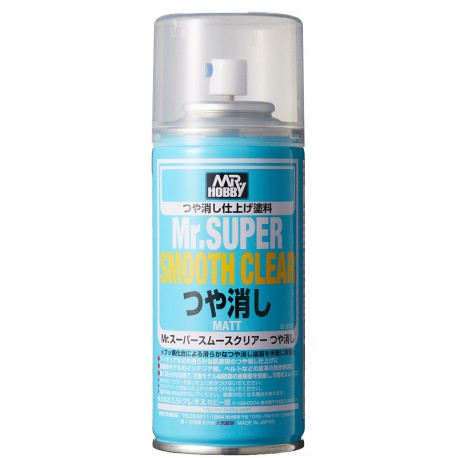 MR SUPER CLEAR Mr Hobby B514 ( MSC ) BARNIZ FIJADOR FIXATIVE MATT MATE / FLAT