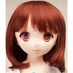 Parabox bob chocolate wig for OTOHIME Fu-chan (Anime) head