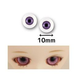 Ojos Cristal Glass Eyes 14mm Dollfie BJD AZUL CLARO LIGHT BLUE y31