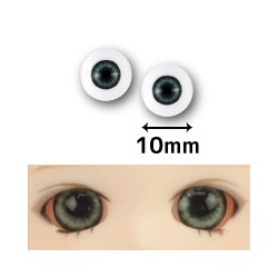 【doll eyes】Realistic Eyes green 10mm eyes