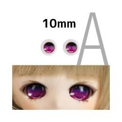 【doll eyes】Anime Basic Eyes Iris A 10mm red