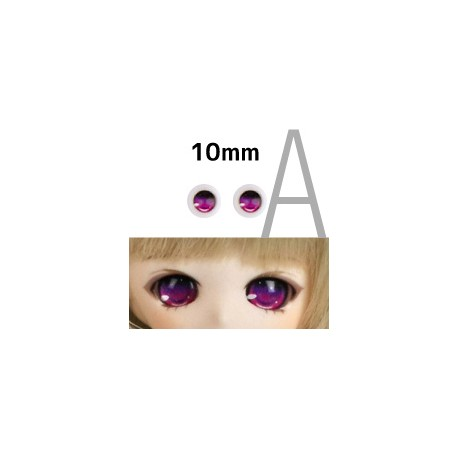 【doll eyes】Anime Basic Eyes Iris A 10mm red