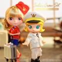 "[PREORDER DEC2020] TAKARA® x Molly x PopMart BLYTHE DOLL ""Cabin Crew Set"" NEW MINT IN BOX (NIB)"