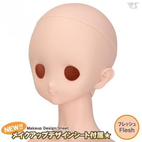VOLKS DD Dollfie Dream Doll DDH-07 Eye Hole Close Soft Cover ver. Normal Head Color Cabeza