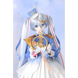 1/3 60cm Dollfie Dream VOLKS Snow Miku 2018 Crane Priestess Dress Set