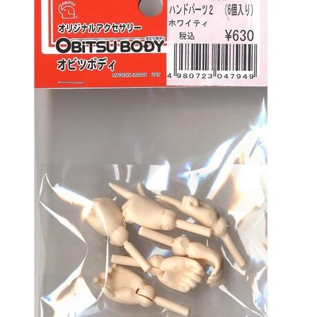 Manos Obitsu Pack 1 Hands 27cm White